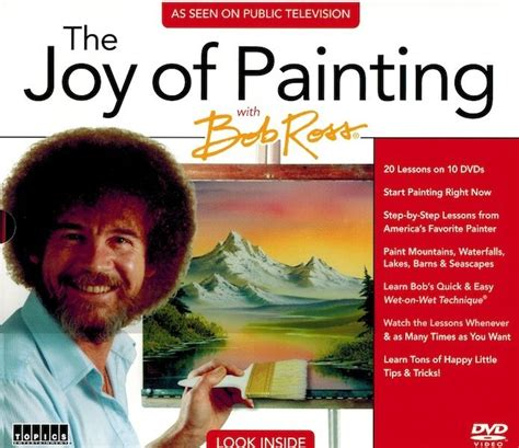 bob ross painting review new pbs the of painting with bob ross 10 dvd set as