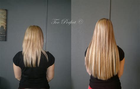 micro extensions micro loop ring hair extensions before and after hair