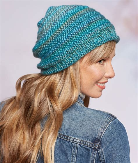 knitting styles keep warm with slouchy hats and scarves