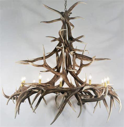 elk chandelier elk antler chandelier 12 light