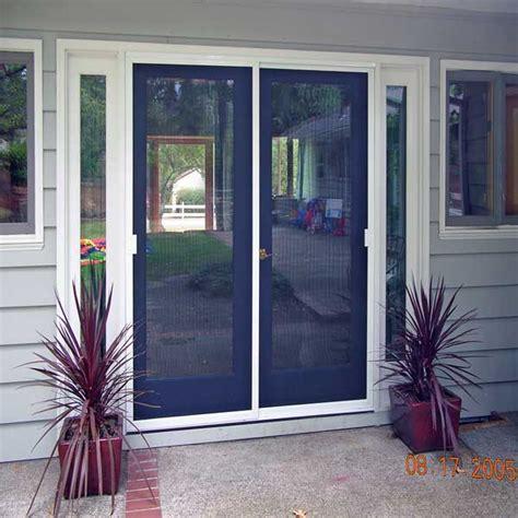 patio doors with screen sliding patio door screens mobile screens etc inc residential commercial portland oregon