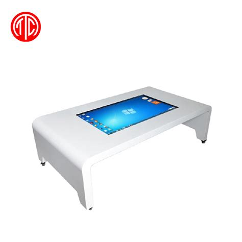 touch screen coffee table 42 quot multi media interactive coffee table with lcd