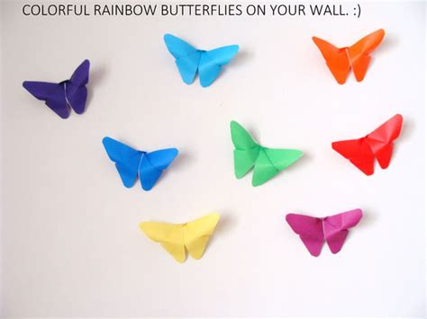 how to fold butterfly origami butterfly origami wall decor