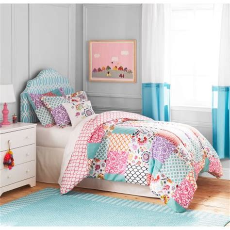 better bedding sets better homes and gardens boho patchwork bedding