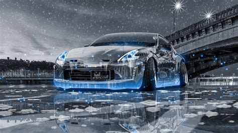 Car Wallpaper Snow by Nissan 370z Tuning City Snow Car 2016
