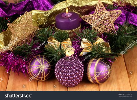 purple gold decorations purple and gold tree decorations