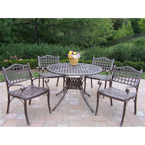 patio dining sets home depot cast iron patio dining sets patio dining furniture