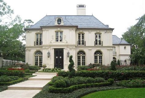chateau style house plans chateau home exterior robert dame designs