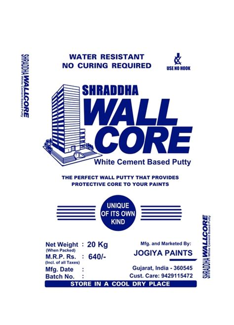 wall putty wall putty in porbandar gujarat india jogiya paints