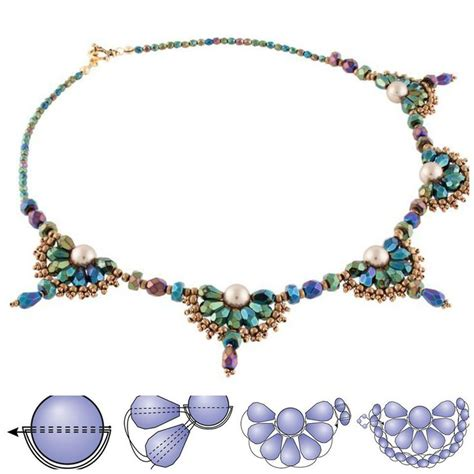 beaded choker necklace patterns 1349 best images about beaded necklace patterns on