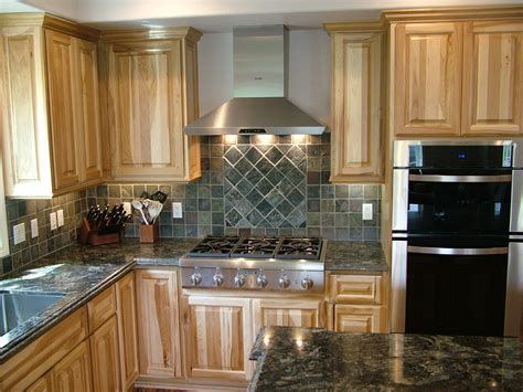 paint colors for kitchen with hickory cabinets hickory kitchen cabinets the cabinets counter