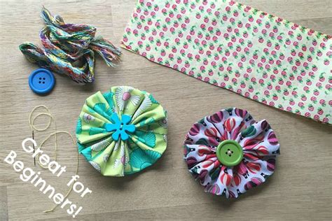 easy sewing craft projects easy fabric flowers sewing projects for beginners with
