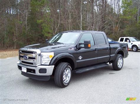 2011 Ford F250 by 2011 Tuxedo Black Metallic Ford F250 Duty Xlt Crew