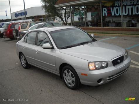 Hyundai Elantra Gls 2002 by 2002 Silver Pewter Hyundai Elantra Gls Sedan 54255996
