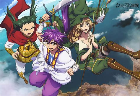 adventures of sinbad magi sinbad no bouken my anime shelf