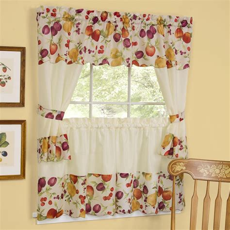 curtain for kitchen kitchen curtains swags and valances window treatments