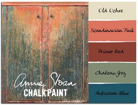 chalk paint colors distressed colorways an jelly cabinet in worn sloan chalk