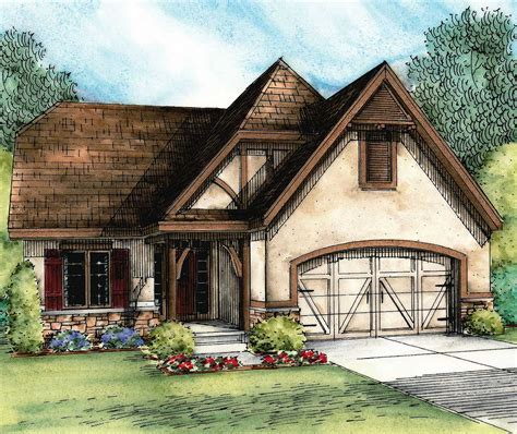 european cottage house plans european cottage with expansion possibilities 42345db architectural designs house plans