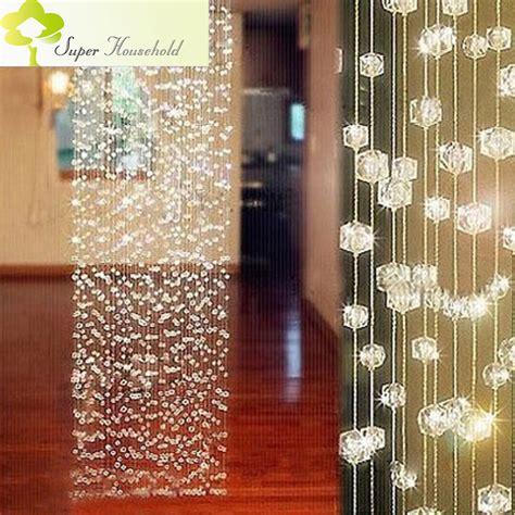 glass door beaded curtains aliexpress buy diy handmade curtains decorative door