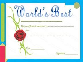 best certificate templates search results for worlds best teacher award certificate