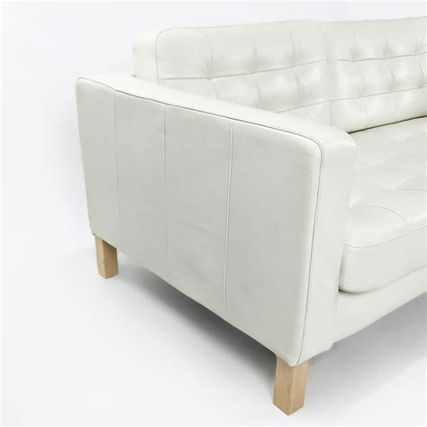 ikea white leather sofa 50 ikea white leather sofas