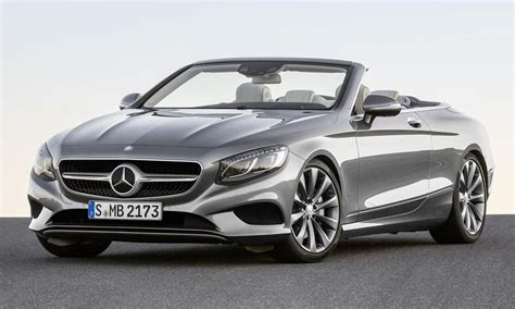 Mercedes S Class Convertible by All New 2017 Mercedes S Class Cabriolet Is The Big
