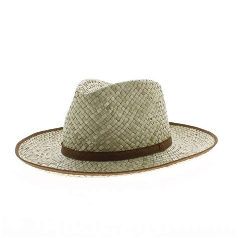 chapeau de jardin paille naturelle traclet