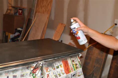 spray paint wrong anthropolgie knock dresser tutorial