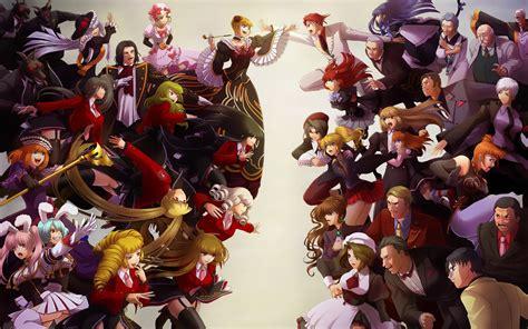anime heroes all anime characters hd wallpaper wallpapersafari