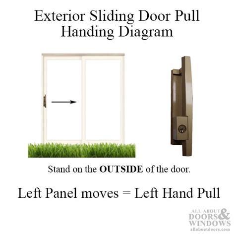 keyed patio door handle sliding patio door handle left outside keyed
