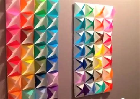 origami for decorations origami wall decoration gioocoo wall