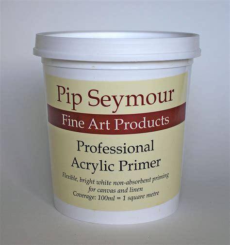 acrylic paint canvas primer professional acrylic primer