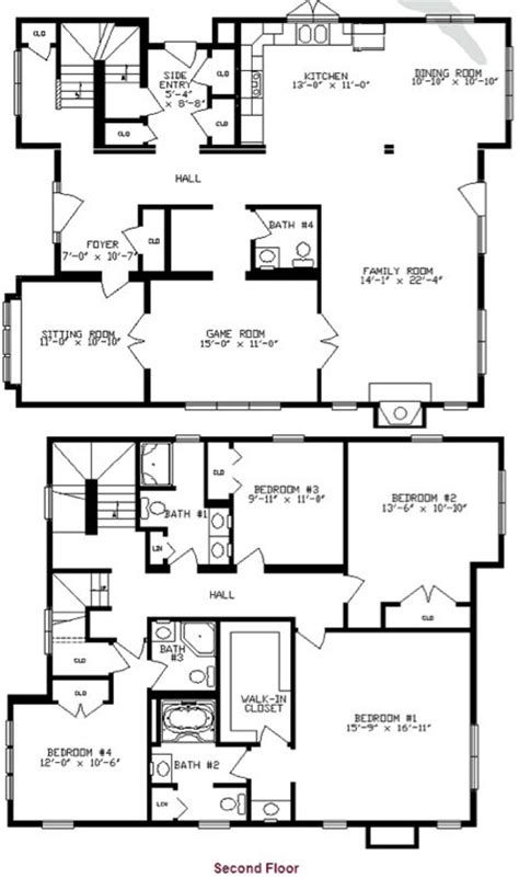two story mobile homes floor plans two story mobile home floor plans gurus floor