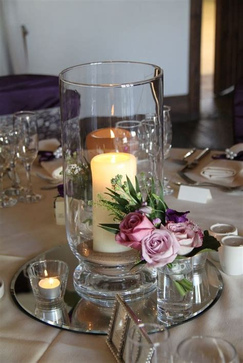 hurricane vase centerpieces 25 best ideas about hurricane centerpiece on