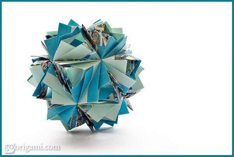 modular origami 12 units etna kusudama by sinayskaya diagram go origami