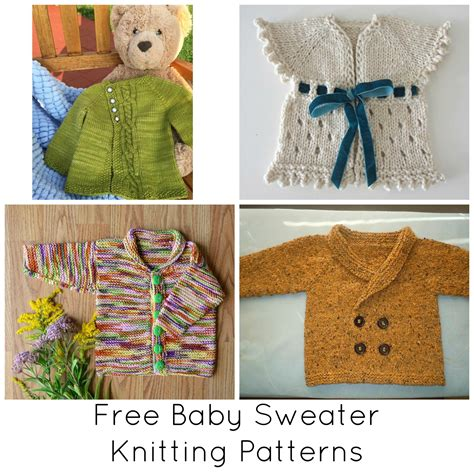 all free knitting patterns knitting designs for baby sweaters