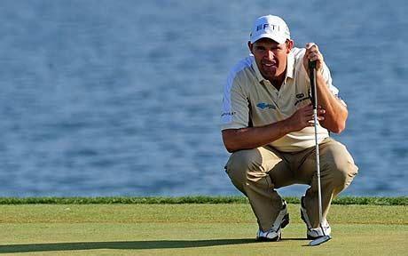 Bmw Golf Chionship by Padraig Harrington Putting