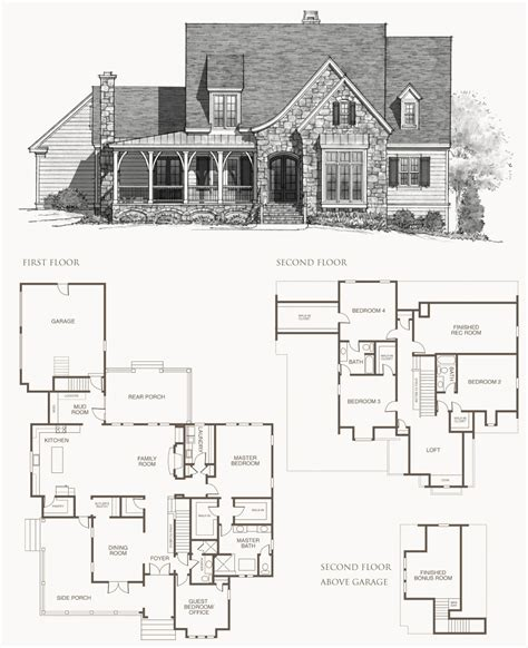 southern living floor plans southern living house plans picture cottage house plans