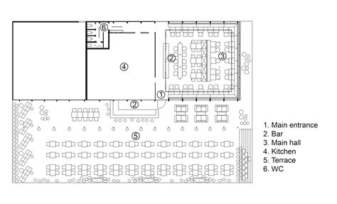 floor plan for bakery gallery of bulka cafe and bakery crosby studios 15