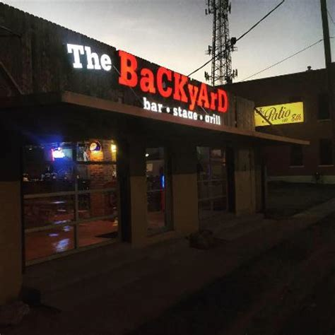 backyard and grill the backyard bar stage and grill waco menu prices