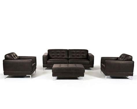 contemporary leather sofa sets contemporary italian leather sofa set 44l5969