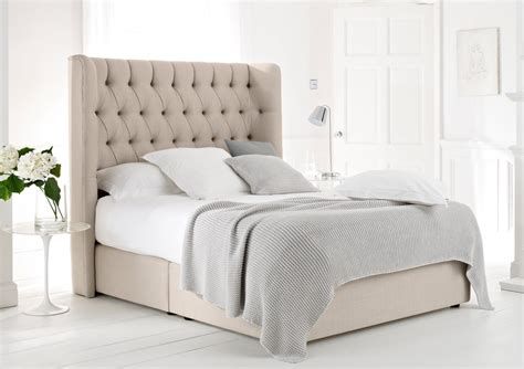 bed upholstered headboard knightsbridge upholstered divan base and headboard