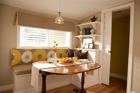 breakfast nooks for small kitchens images