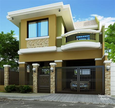 2 storey house plans 2 storey modern house designs in the philippines bahay ofw