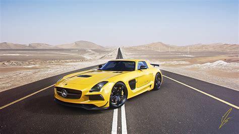 Supercar Wallpaper Yellow by Mercedes Amg Sls Supercar Yellow Car 4k Ultra Hd