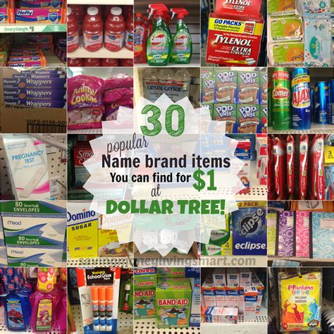 tree items 30 popular brand name items for 1 at dollar tree saving