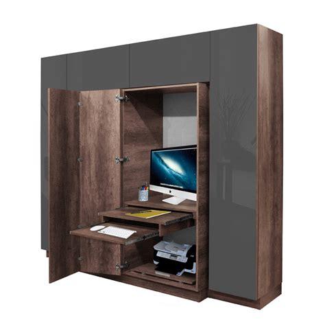 closet desks hawthorne wardrobe closet desk instant home office