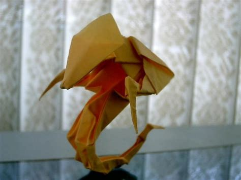origami hydralisk hydralisk origami by levi ong artwanted