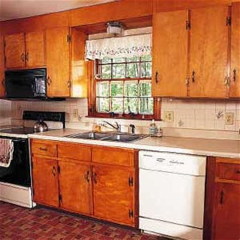 Painted Old Kitchen Cabinets before amp after kitchen domestic engineer com