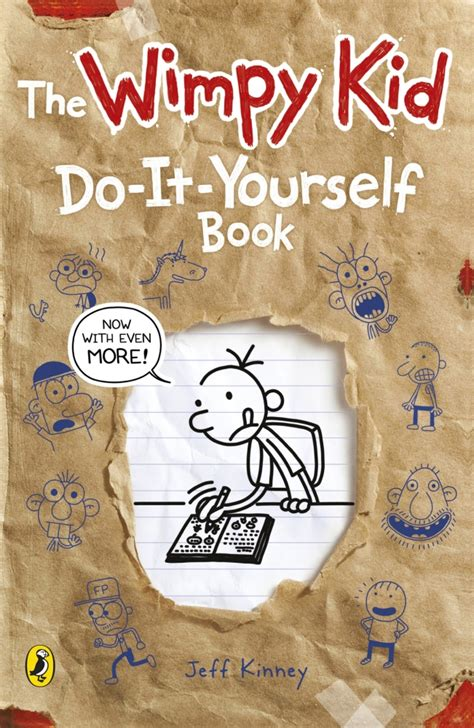 diary of a wimpy kid book pictures diary of a wimpy kid do it yourself book by jeff kinney